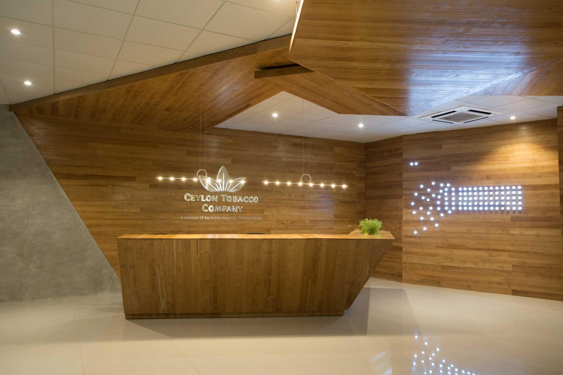 Ceylon Tobacco Company Image 01| Corporate Interior Design