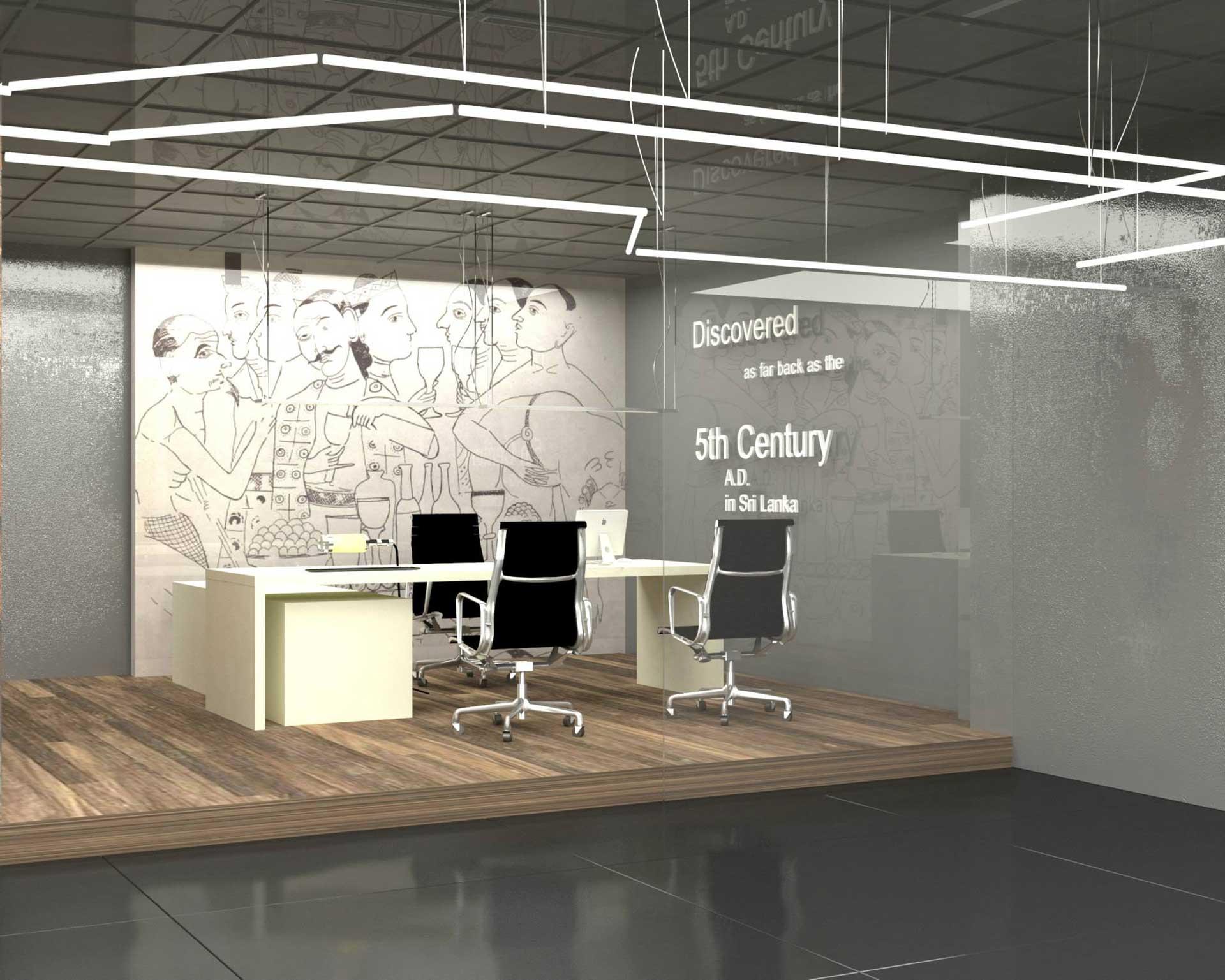 DCSL Arrack Image 02 | Office Space Interior Design in Sri Lanka