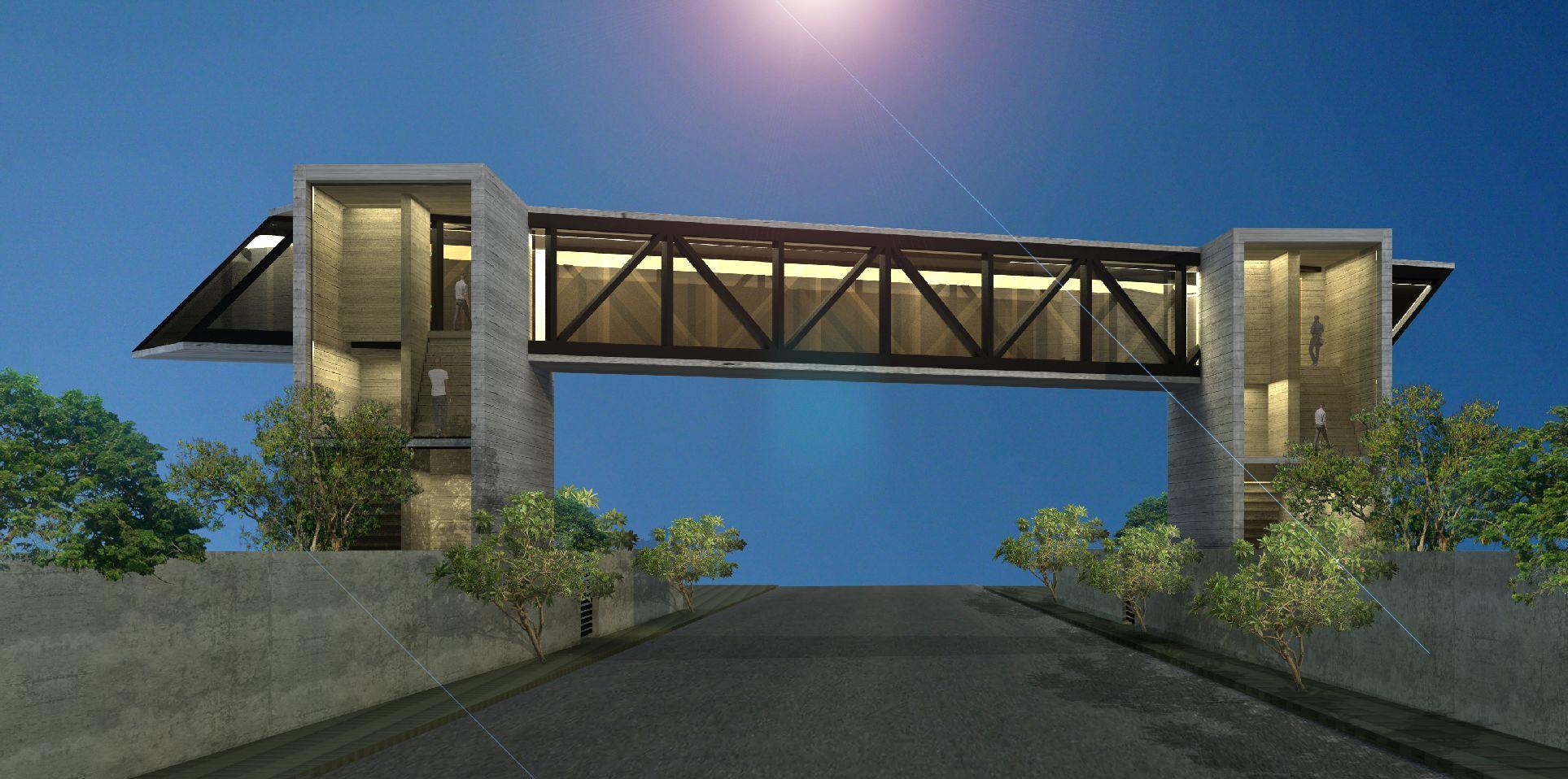 Diamond Cutters Bridge Image 01 | Bridges Architecture and Design in Sri Lanka